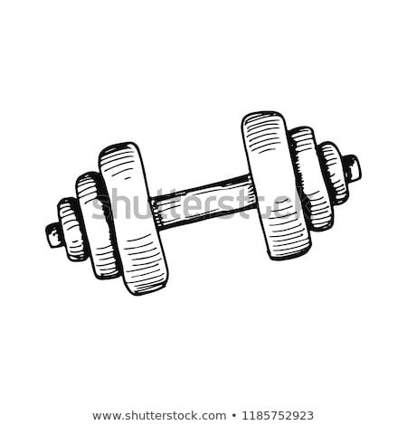 esportes · equipamento · áspero · vetor · desenho - foto stock © rastudio