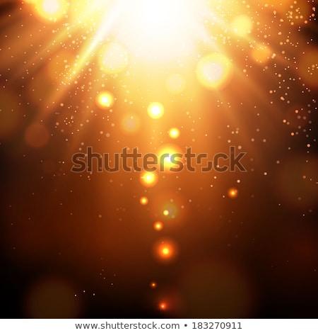 modern bokeh light effect background design Stock photo © SArts