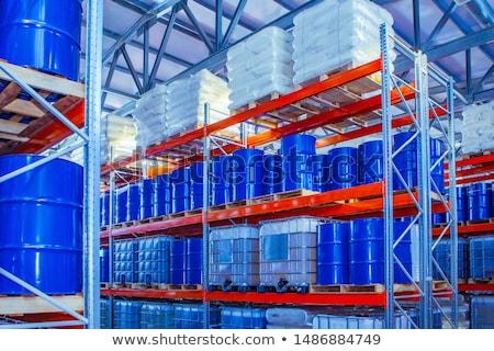Stock photo: Chemical Warehouse