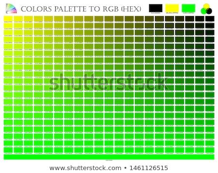 hue definition green Stock photo © Olena
