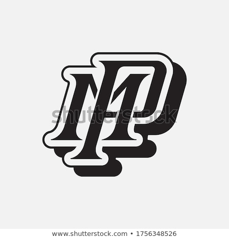 lettre · logo · symbole · forme · combinaison · lettres - photo stock © meisuseno
