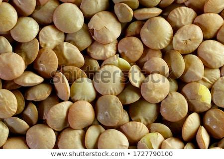 Surowy organiczny brązowy nasion Zdjęcia stock © mpessaris