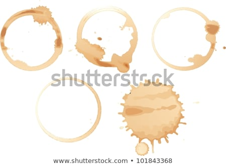 Spilt cup of coffee Stock photo © IS2