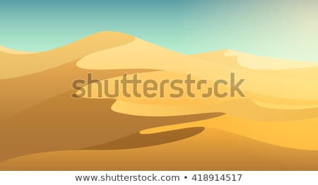 a desert scene with camels stock photo © bluering