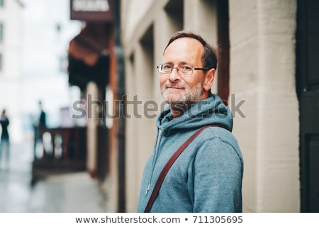 Senior Adult man in street Stock photo © IS2