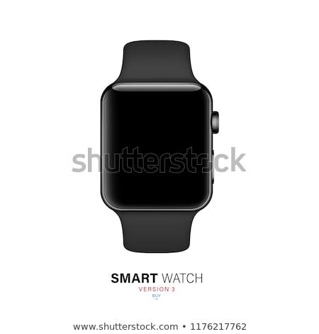 digital smart watch with touchscreen stock vector illustration Stock photo © konturvid