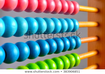 children on colourful abacus stock photo © bluering