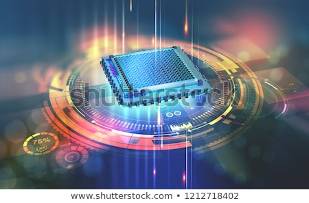 Processor power Stock photo © Andreus