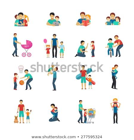 логотип · семьи · детей · любви · ребенка · дизайна - Сток-фото © blaskorizov