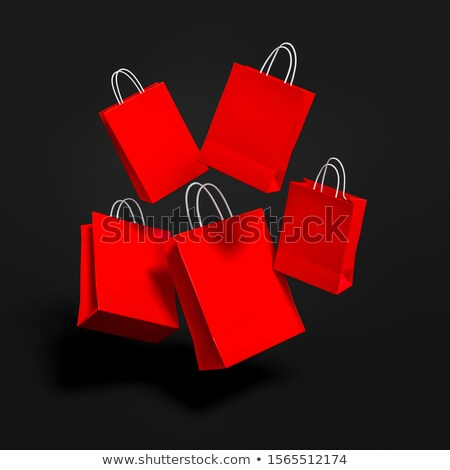 Present Boxes in Shopping Basket, Promo Posters Stock photo © robuart