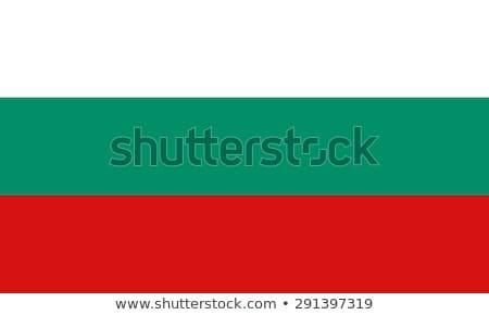Bułgaria banderą biały duży zestaw serca Zdjęcia stock © butenkow