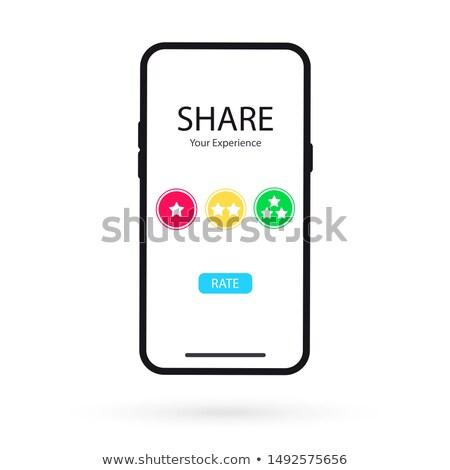 опыт · кнопки · мобильного · телефона · экране · смартфон - Сток-фото © robuart