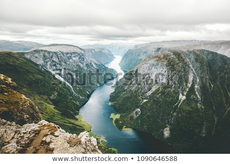 Summer landscape of Norway Stock photo © Kotenko