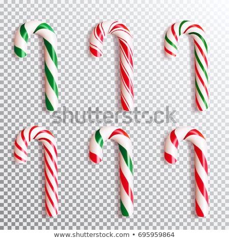 Zucchero di canna icone pattern eps 10 alimentare Foto d'archivio © netkov1