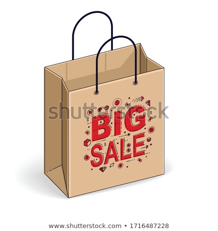 big sale of black friday holiday autumnal sellout stock photo © robuart