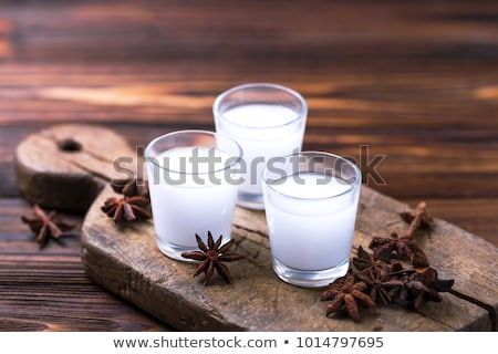 Traditional Greek ouzo,  alcohol drink with anise Stock photo © furmanphoto