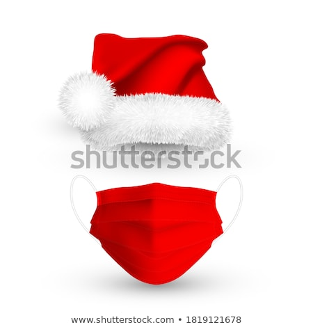 Santa Claus cap. Mesh. Stock photo © ElenaShow