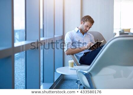 Schrijven dagboek persoon handen Stockfoto © AndreyPopov