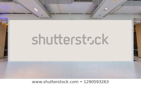 Etapa banner diseno fondo cortina cinta Foto stock © colematt