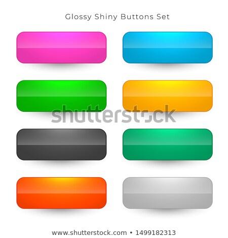 Brillant large boutons design signe Photo stock © SArts