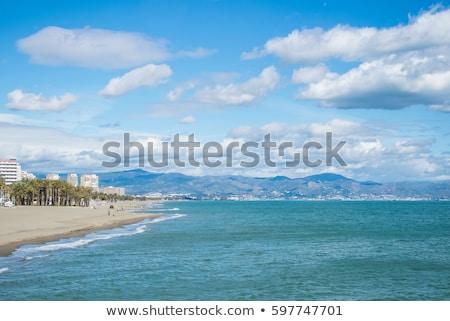 praia · Espanha · recorrer · água · sol · natureza - foto stock © borisb17