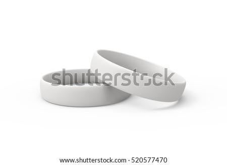 два резиновые 3d иллюстрации изолированный белый моде Сток-фото © montego