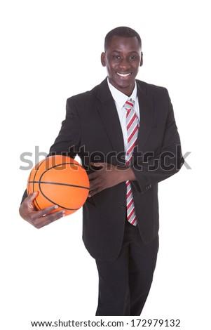 Difícil negócio lutar africano americano homem boa aparência Foto stock © darrinhenry