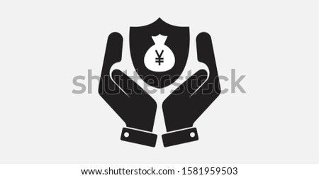 shield with JPY sign Stock photo © netkov1