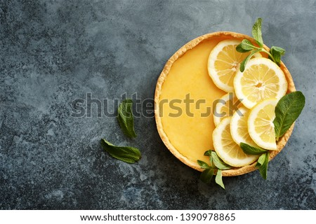 lemon tart Stock photo © M-studio