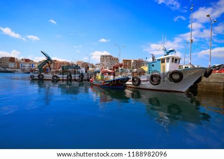 Bosje haven vissen boten rivier galicië Stockfoto © lunamarina