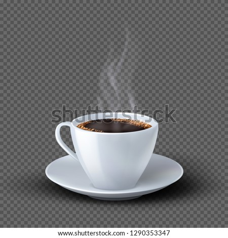 művészet · forró · kávé · kávé · fa · ital - stock fotó © grafvision
