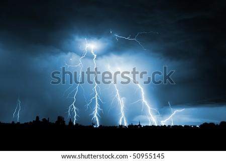 grande · cielo · natura · luce · pioggia · estate - foto d'archivio © Fesus