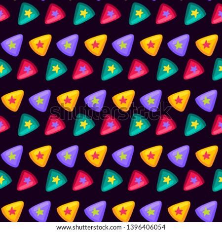 Kolorowy trójkąt star wewnątrz wzór streszczenie Zdjęcia stock © barsrsind