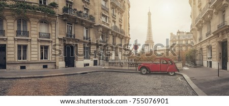 Small Vintage Alley Stock photo © SimpleFoto