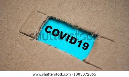 Peças papel notícia tabela madeira Foto stock © a2bb5s