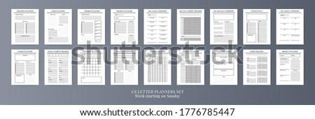 Szervező izolált fehér papír könyv háttér Stock fotó © timbrk