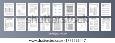 Organisateur isolé blanche papier livre fond Photo stock © timbrk