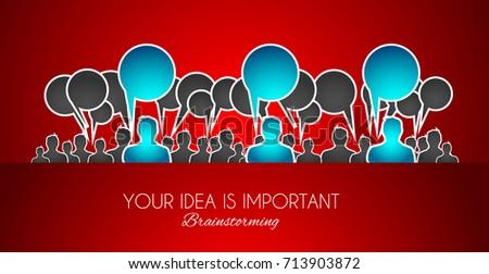 team · lijn · ontwerp · banner · kantoormedewerkers · illustratie - stockfoto © davidarts