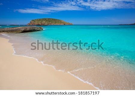 Ibiza Cala Comte conta beach Balearics Stock photo © lunamarina