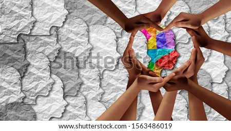 Mental Health Community Stock photo © Lightsource