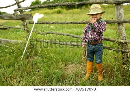 Jeden brązowy hat buty ilustracja Zdjęcia stock © bluering