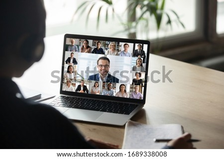 Boss working closely with female colleague Stock photo © photography33