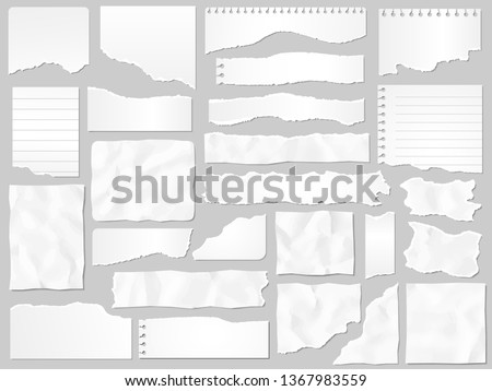 crumpled paper borders Stock photo © oly5