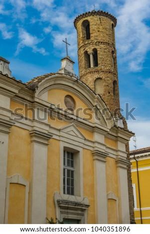 Chiesa dei Santi Giovanni e Paolo in Ravenna Stock photo © boggy