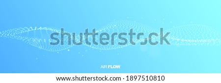 Abstract Liquid Fluid Background Vector. Wide Wave Flow. Cool Wallpaper. Business Backdrop. 3D Reali Stock photo © pikepicture