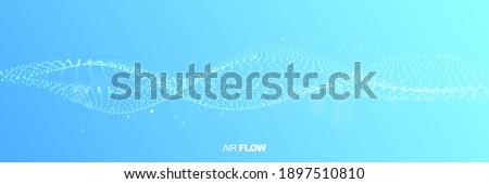 Abstrato líquido fluido vetor grande onda Foto stock © pikepicture