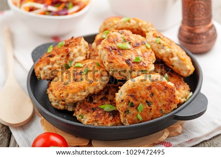 chicken cutlet Stock photo © tycoon