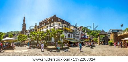 Histórico cidade Alemanha sul ocidente casa Foto stock © gewoldi