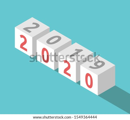 Beyaz değiştirmek tablo yeni yıl Stok fotoğraf © Oakozhan