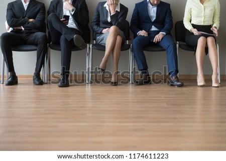 Lábak üzlet megbeszélés öltöny férfi ül Stock fotó © IS2